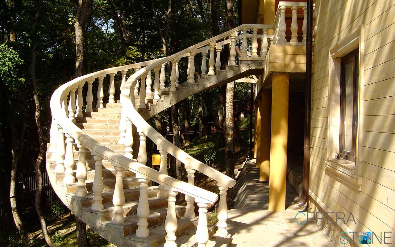 Лестница песч